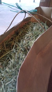 HRS - Hay in new bag