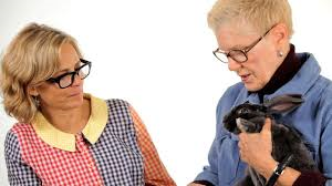 HRS Education Director Mary Cotter Teams Up with Amy Sedaris to Make New Rabbit Care Videos