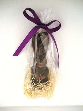 Buy Rescue Chocolate Bunny instead of Easter Bunny This Year
