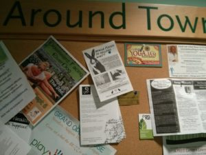 Whole Foods Bulletin Board