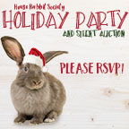 Holiday party at House Rabbit Society!