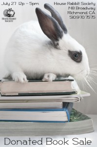 Donated Book Sale @ House Rabbit Society | Richmond | California | United States